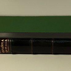 Libros antiguos: LA POLÍTICA ESPAÑOLA EN ITALIA, CORRESPONDENCIA DE F. MARIN, CON CARLOS I. TOMO I. 1919.. Lote 177372012