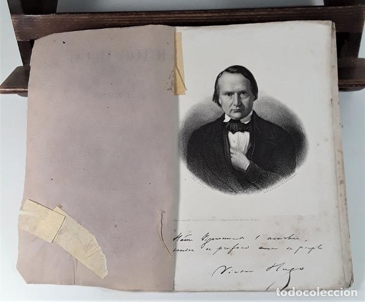 Libros antiguos: VICTOR HUGO. TREIZE DISCOURS. LIBRAIRIE NOUVELLE. PARÍS. 1851. - Foto 4 - 178035247