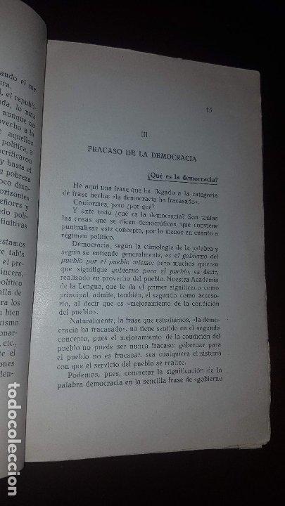 Libros antiguos: En torno al Estado Futuro (Divagaciones) - 1936 - Foto 4 - 178737570