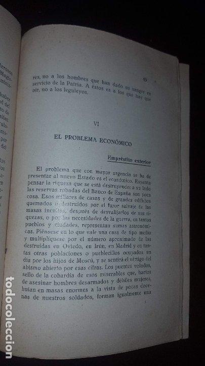 Libros antiguos: En torno al Estado Futuro (Divagaciones) - 1936 - Foto 7 - 178737570
