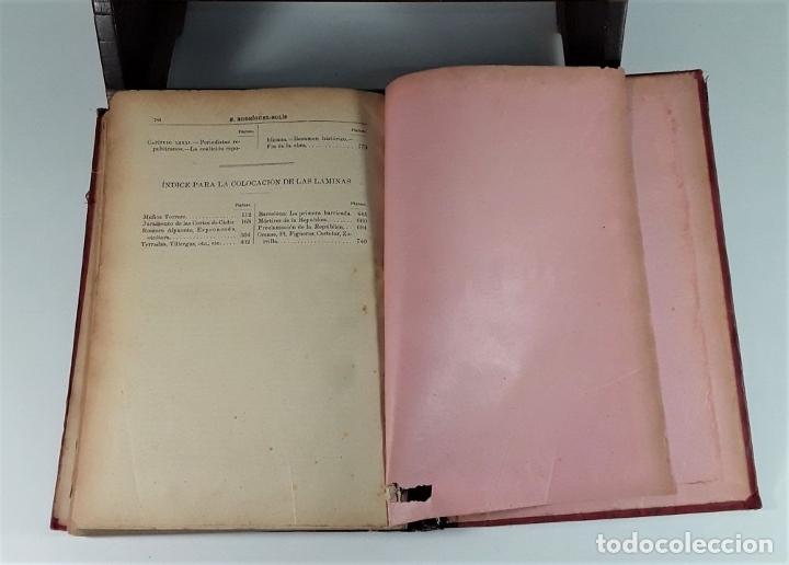 Libros antiguos: HISTORIA DEL PARTIDO REPUBLICANO ESPAÑOL. TOMOS I Y II. MADRID. 1892/93. - Foto 10 - 178857681