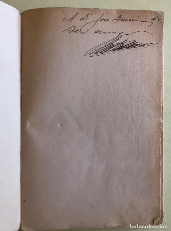 Libros antiguos: SOCIALISMO- ANTONIO MARIN MONROY- MADRID 1.931- PRIMERA EDICION- DEDICADO - Foto 3 - 179515891
