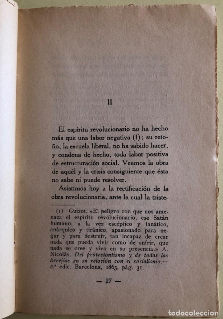 Libros antiguos: SOCIALISMO- ANTONIO MARIN MONROY- MADRID 1.931- PRIMERA EDICION- DEDICADO - Foto 6 - 179515891