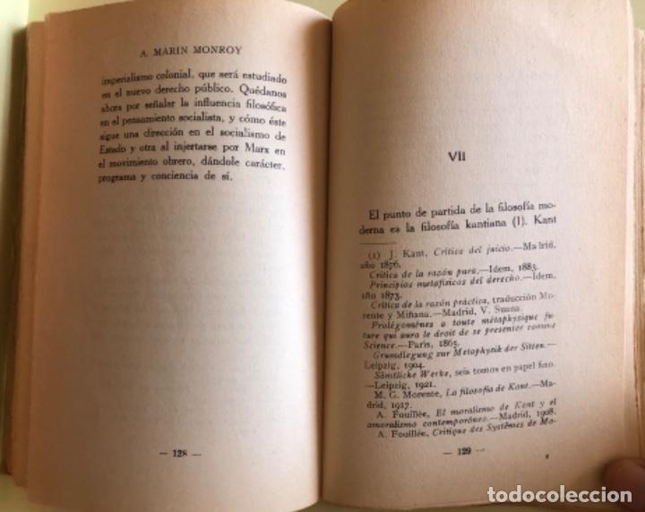 Libros antiguos: SOCIALISMO- ANTONIO MARIN MONROY- MADRID 1.931- PRIMERA EDICION- DEDICADO - Foto 7 - 179515891
