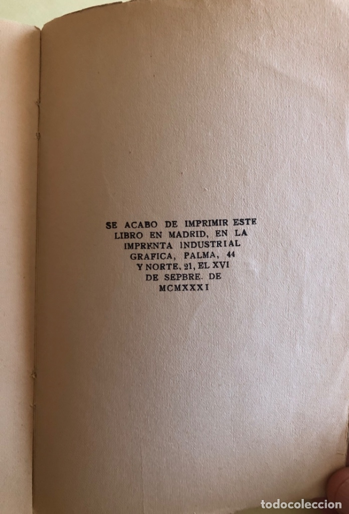 Libros antiguos: SOCIALISMO- ANTONIO MARIN MONROY- MADRID 1.931- PRIMERA EDICION- DEDICADO - Foto 9 - 179515891