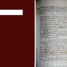 Libros antiguos: EXTRACTO DE LAS CONDICIONES BAJO LAS CÚALES SE HA CONCLUÍDO Y FIRMADO EL DIA 10-SEPT.-1784 LA PAZ.... Lote 179957778