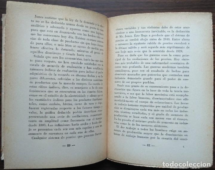 Libros antiguos: ¿QUE ES LA TECNOCRACIA? ALLEN RAYMOND 1933 - Foto 3 - 180201421