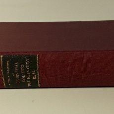 Libros antiguos: EL SISTEMA POLÍTICO DEL ESTATUTO REAL(1834-1836). J. TOMÁS. INS. ESTUDIOS POLÍTICOS. MADRID. 1968.. Lote 180391605