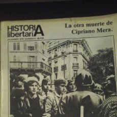 Libros antiguos: HISTORIA LIBERTARIA. REVISTA ANARQUISTA. DICIEMBRE 1979 Nº 6 (MADRID, 1979). Lote 182307365