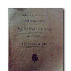 Libros antiguos: HISTORIA POLÍTICA Y PARLAMENTARIA DEL EXCMO. SR. D. ANTONIO DE LOS RÍOS Y ROSAS. Lote 182352192