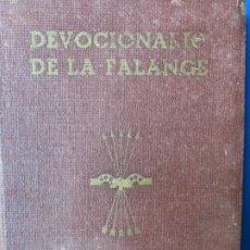 Libros antiguos: DEVOCIONARIO DE LA FALANGE. Lote 182426575