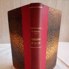 Libros antiguos: 14-PROBLEMAS DE LA PAZ, ORESTES FERRARA, 1919. Lote 183207843