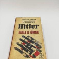 Libros antiguos: HITLER HABLA EL FUHRER . Lote 183848811