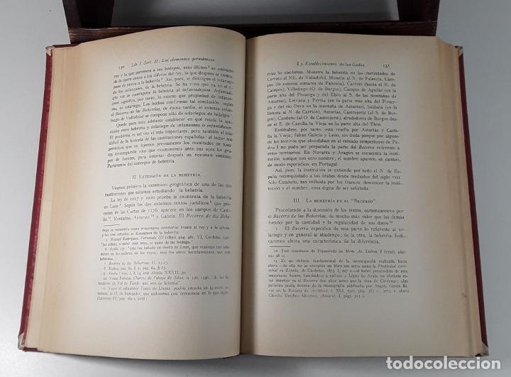 Libros antiguos: HISTORIA DE LAS INSTITUCIONES SOCIALES Y POLÍTICAS. 2 TOMOS EN 1 VOLUM. 1925/26. - Foto 2 - 185973045