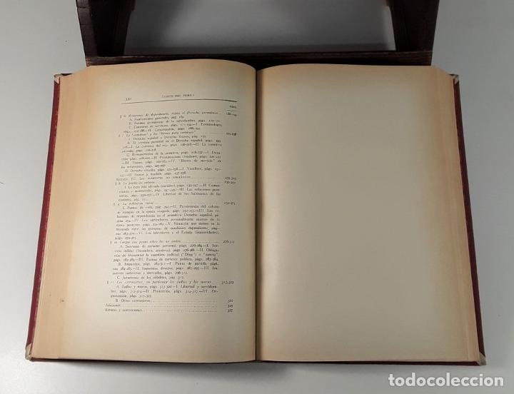 Libros antiguos: HISTORIA DE LAS INSTITUCIONES SOCIALES Y POLÍTICAS. 2 TOMOS EN 1 VOLUM. 1925/26. - Foto 3 - 185973045