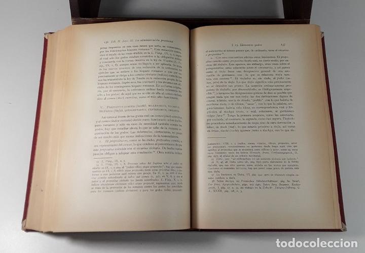 Libros antiguos: HISTORIA DE LAS INSTITUCIONES SOCIALES Y POLÍTICAS. 2 TOMOS EN 1 VOLUM. 1925/26. - Foto 5 - 185973045