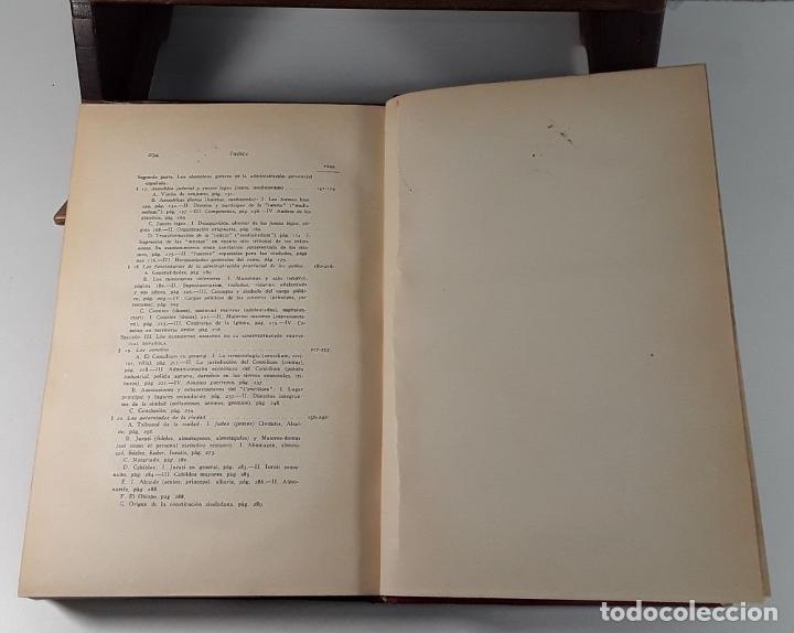 Libros antiguos: HISTORIA DE LAS INSTITUCIONES SOCIALES Y POLÍTICAS. 2 TOMOS EN 1 VOLUM. 1925/26. - Foto 6 - 185973045