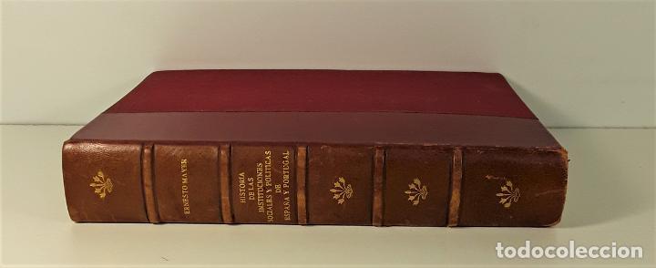 HISTORIA DE LAS INSTITUCIONES SOCIALES Y POLÍTICAS. 2 TOMOS EN 1 VOLUM. 1925/26. (Libros Antiguos, Raros y Curiosos - Pensamiento - Política)