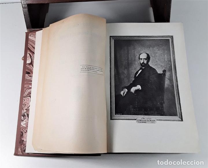 Libros antiguos: HISTORIA POLÍTICA Y PARLAMENTARIA DE D. NICOLÁS SALMERÓN. A. LLOPIS. MADRID. 1915. - Foto 5 - 185986957