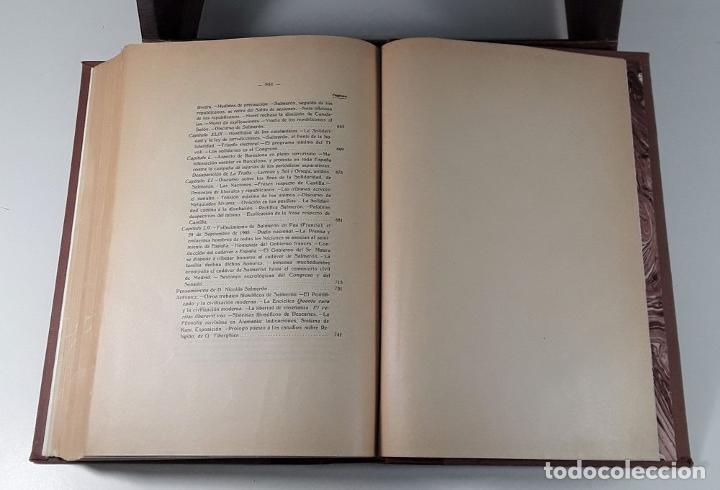 Libros antiguos: HISTORIA POLÍTICA Y PARLAMENTARIA DE D. NICOLÁS SALMERÓN. A. LLOPIS. MADRID. 1915. - Foto 8 - 185986957