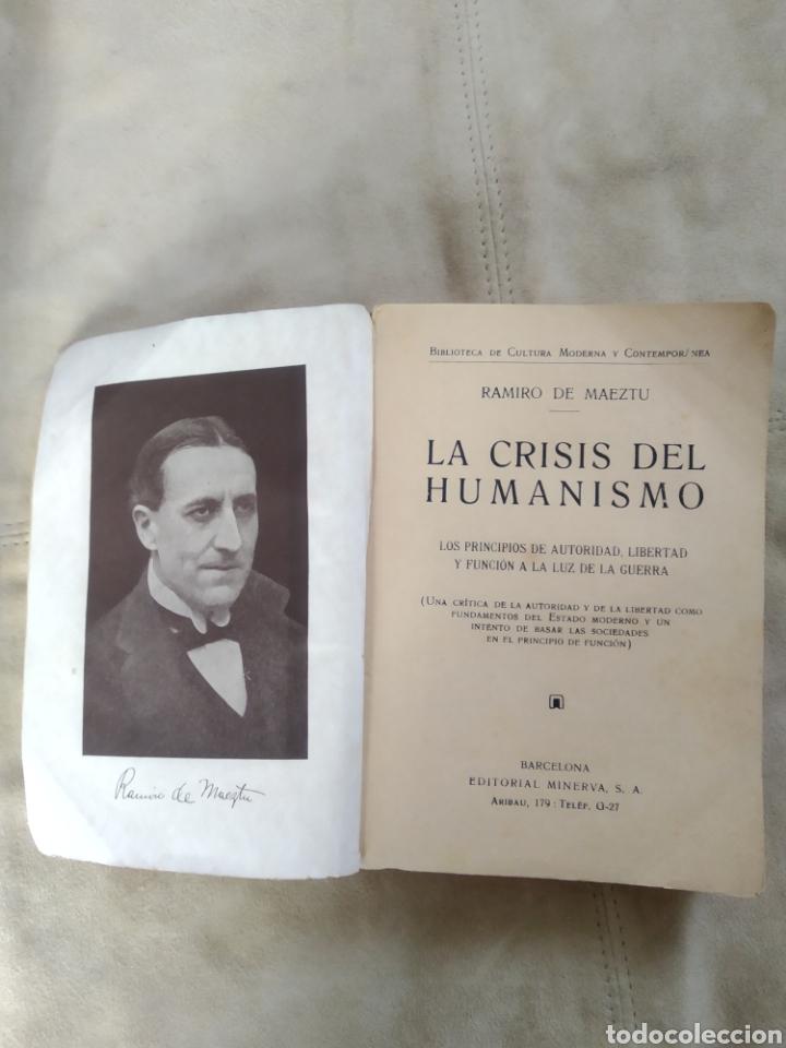 Libros antiguos: LA CRISIS DEL HUMANISMO. RAMIRO DE MAEZTU. AÑOS 20 - Foto 3 - 186213867