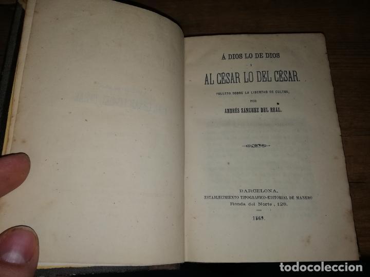 Libros antiguos: RARO EJEMPLAR FOLLETOS POLÍTICOS : LA DEMOCRACIA,COMUNISMO, SOCIALISMO DE EUGENIO GARCÍA.... - Foto 3 - 190778570