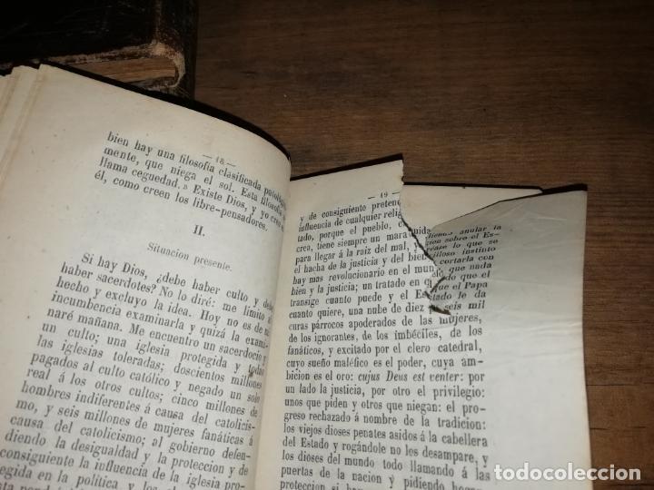 Libros antiguos: RARO EJEMPLAR FOLLETOS POLÍTICOS : LA DEMOCRACIA,COMUNISMO, SOCIALISMO DE EUGENIO GARCÍA.... - Foto 4 - 190778570