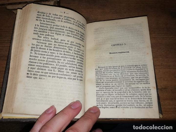 Libros antiguos: RARO EJEMPLAR FOLLETOS POLÍTICOS : LA DEMOCRACIA,COMUNISMO, SOCIALISMO DE EUGENIO GARCÍA.... - Foto 7 - 190778570