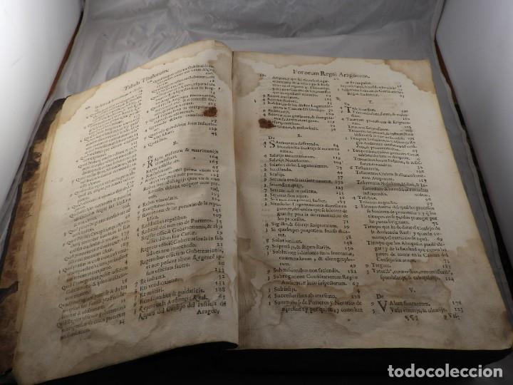 Libros antiguos: LIBRO FUEROS Y OBSERVANCIAS DEL REYNO DE ARAGON AÑO 1667 - Foto 5 - 190810318
