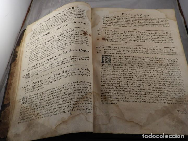 Libros antiguos: LIBRO FUEROS Y OBSERVANCIAS DEL REYNO DE ARAGON AÑO 1667 - Foto 7 - 190810318