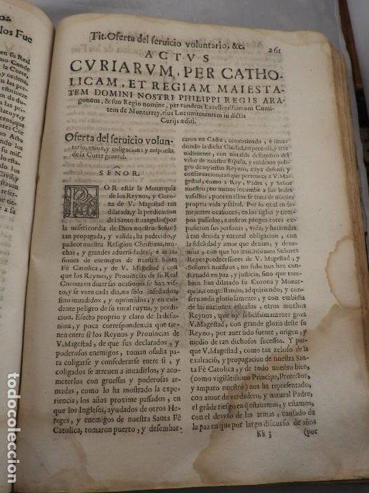 Libros antiguos: LIBRO FUEROS Y OBSERVANCIAS DEL REYNO DE ARAGON AÑO 1667 - Foto 10 - 190810318