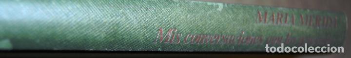 Libros antiguos: Mis conversaciones con los generales. Veinte entrevistas con altos mandos del Ejército y la Armada. - Foto 2 - 191155702