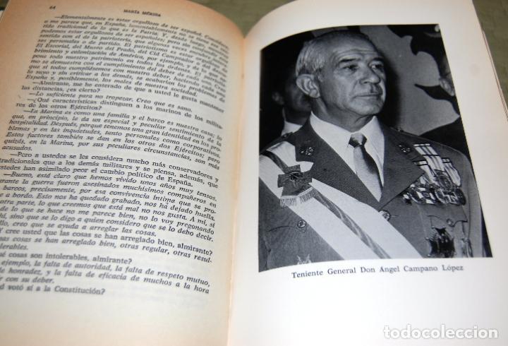 Libros antiguos: Mis conversaciones con los generales. Veinte entrevistas con altos mandos del Ejército y la Armada. - Foto 7 - 191155702