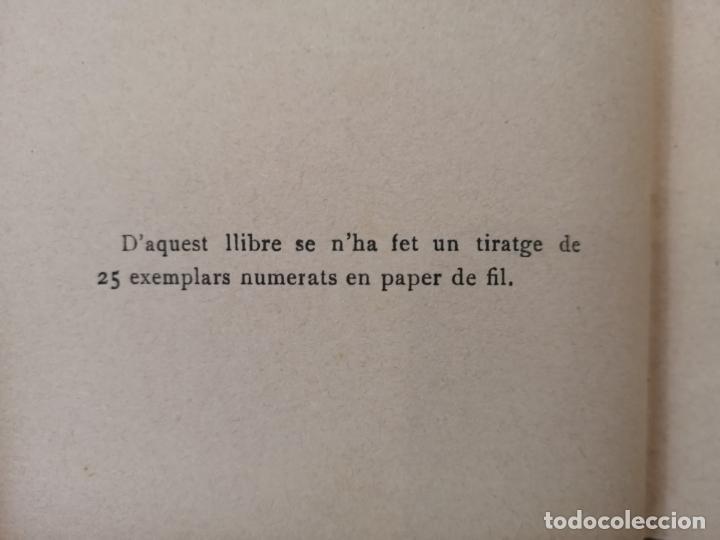 Libros antiguos: REVOLTA. J.Pous y Pagés. BIBLIOTECA DE EL POBLE CATALA. 1ª edición. SÓLO 25 EJEMPLARES. - Foto 6 - 193890585