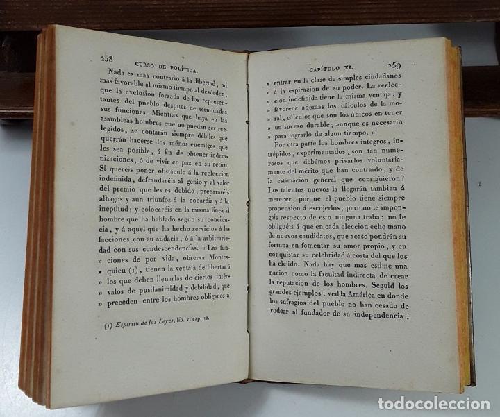 Libros antiguos: CURSO DE POLÍTICA CONSTITUCIONAL, TOMOS I Y II. IMP. L. JÓVEN. BURDEOS. 1823. - Foto 5 - 194027727