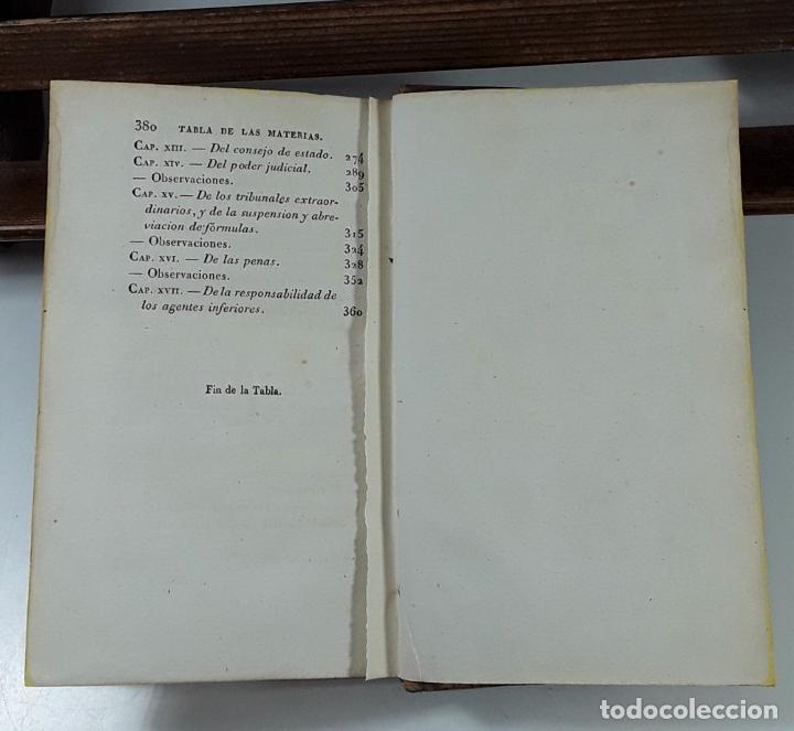 Libros antiguos: CURSO DE POLÍTICA CONSTITUCIONAL, TOMOS I Y II. IMP. L. JÓVEN. BURDEOS. 1823. - Foto 6 - 194027727