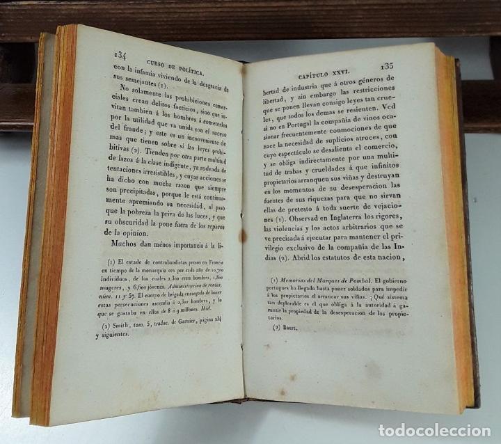 Libros antiguos: CURSO DE POLÍTICA CONSTITUCIONAL, TOMOS I Y II. IMP. L. JÓVEN. BURDEOS. 1823. - Foto 8 - 194027727