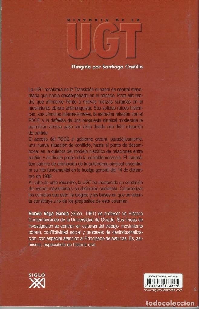 Libros antiguos: HISTORIA DE LA UGT - Foto 2 - 194089846