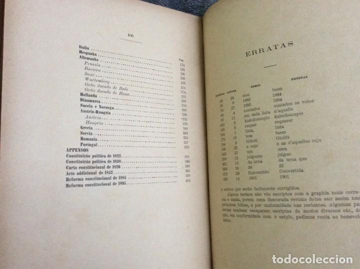 Libros antiguos: Elecciones y parlamentos en Europa / Henrique Baptista. Año 1903, 1.ª edición. Escaso. Envio grátis - Foto 5 - 194110321