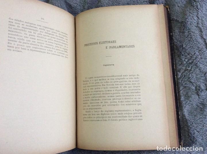 Libros antiguos: Elecciones y parlamentos en Europa / Henrique Baptista. Año 1903, 1.ª edición. Escaso. Envio grátis - Foto 9 - 194110321