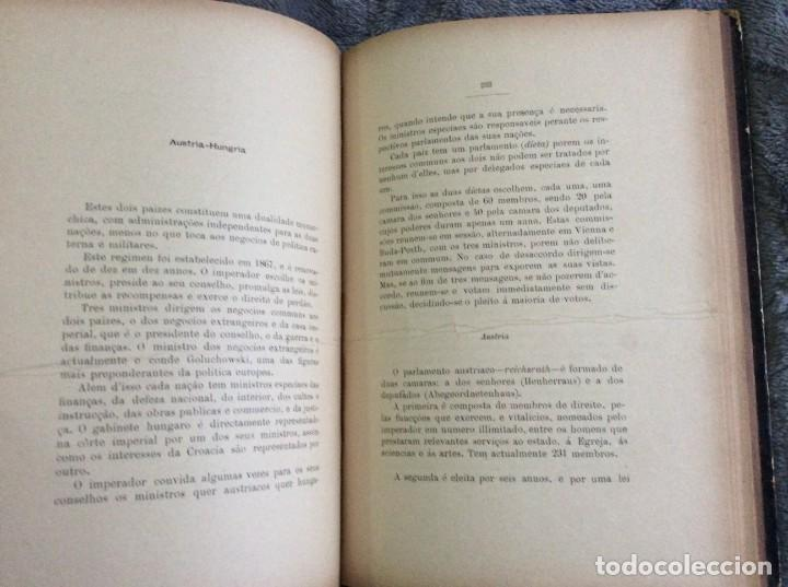 Libros antiguos: Elecciones y parlamentos en Europa / Henrique Baptista. Año 1903, 1.ª edición. Escaso. Envio grátis - Foto 12 - 194110321