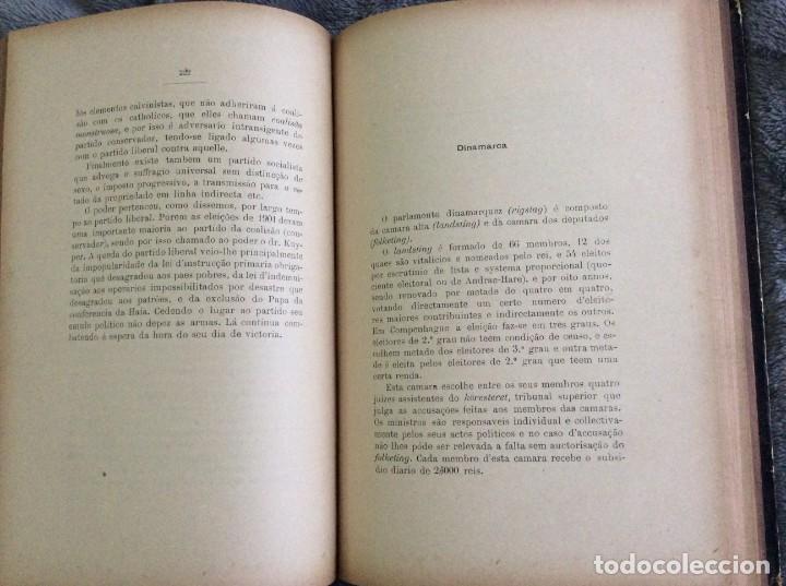 Libros antiguos: Elecciones y parlamentos en Europa / Henrique Baptista. Año 1903, 1.ª edición. Escaso. Envio grátis - Foto 13 - 194110321