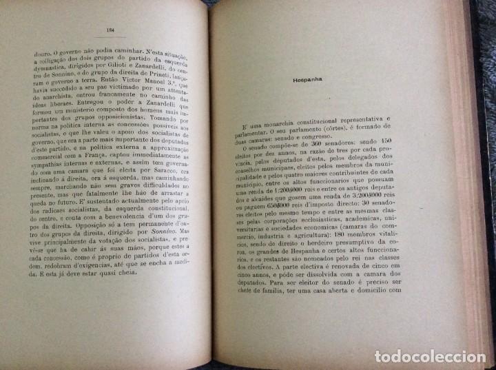 Libros antiguos: Elecciones y parlamentos en Europa / Henrique Baptista. Año 1903, 1.ª edición. Escaso. Envio grátis - Foto 14 - 194110321