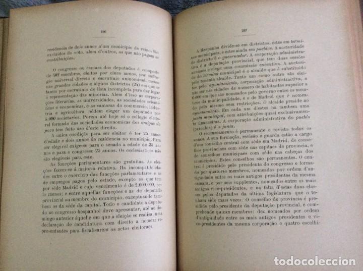 Libros antiguos: Elecciones y parlamentos en Europa / Henrique Baptista. Año 1903, 1.ª edición. Escaso. Envio grátis - Foto 15 - 194110321