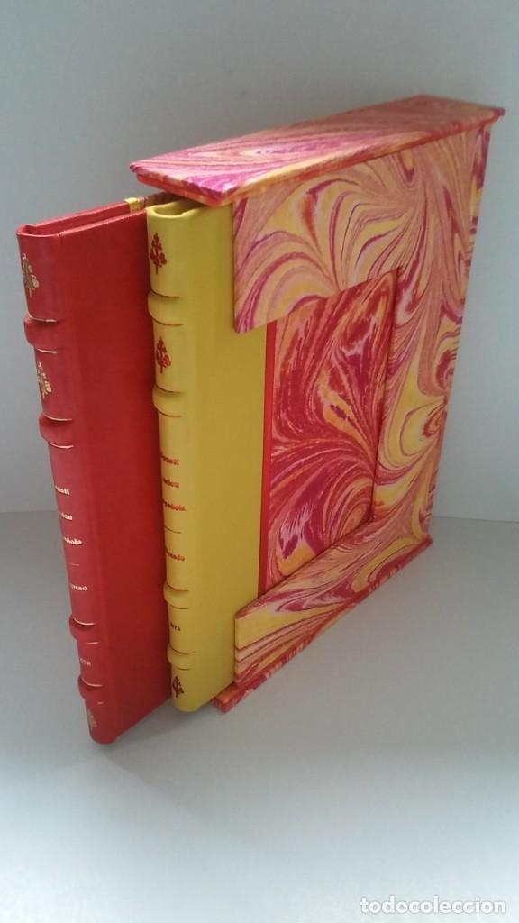 Libros antiguos: Constitución Española 1978 [Facsímil]/ Congreso de los Diputados; Senado ¡Encuadernación artesanal! - Foto 3 - 194154456