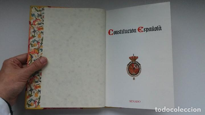 Libros antiguos: Constitución Española 1978 [Facsímil]/ Congreso de los Diputados; Senado ¡Encuadernación artesanal! - Foto 22 - 194154456