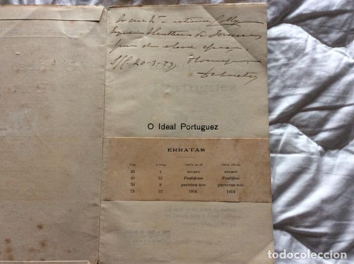 Libros antiguos: El ideal portugués. Bases para la reorganización tradic. de la nación portuguesa, 1917. Envio grátis - Foto 2 - 194224446