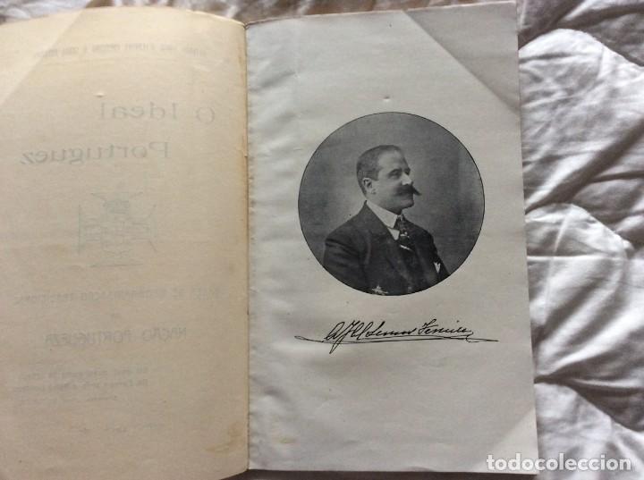 Libros antiguos: El ideal portugués. Bases para la reorganización tradic. de la nación portuguesa, 1917. Envio grátis - Foto 4 - 194224446