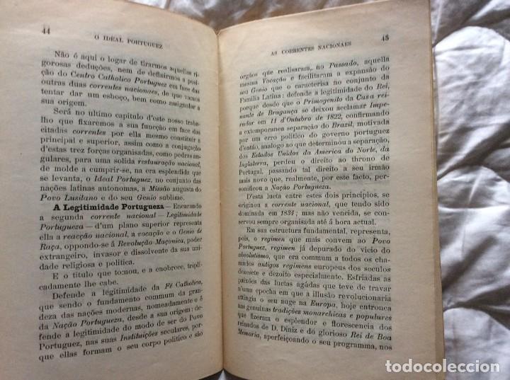 Libros antiguos: El ideal portugués. Bases para la reorganización tradic. de la nación portuguesa, 1917. Envio grátis - Foto 7 - 194224446