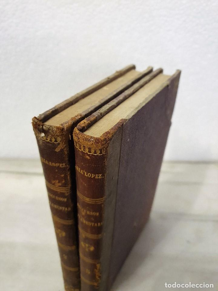 Libros antiguos: Discursos Parlamentarios, 1856, Joaquín María López, Tomos 2 y 5 - Foto 2 - 194648215
